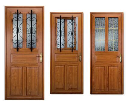 porte pvc compo portes et fen tres pvc bois et alu en. Black Bedroom Furniture Sets. Home Design Ideas