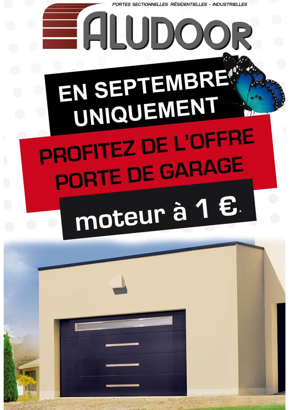 Promotion ateliers septembre big portes et fen tres pvc for Porte garage promotion