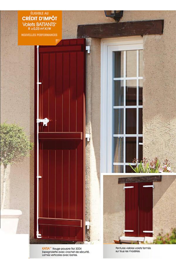 volet battant aluminium isol portes et fen tres pvc bois et alu en essonne 91. Black Bedroom Furniture Sets. Home Design Ideas
