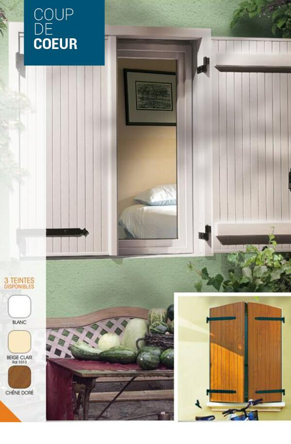 volet battant bois pour porte fenetre la porte de service style porte fermire en bois cliquez. Black Bedroom Furniture Sets. Home Design Ideas