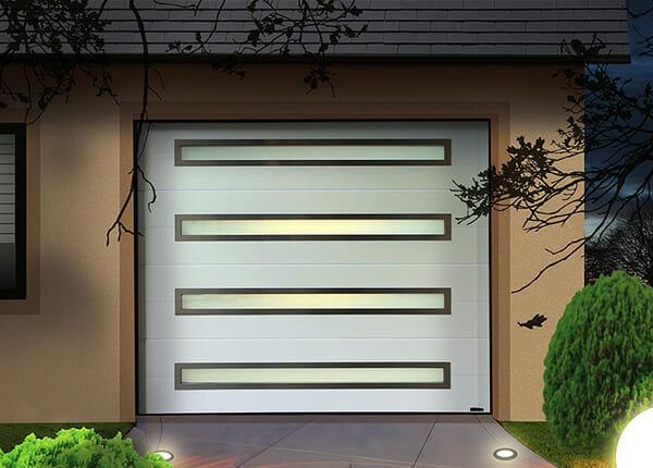 porte de garage sectionnelle plafond aludoor portes et fen tres pvc bois et alu en essonne 91. Black Bedroom Furniture Sets. Home Design Ideas