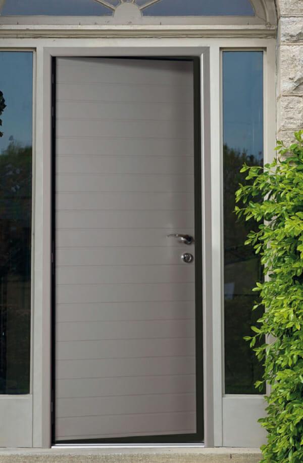 Portealuminiumhabitat Portes Et Fenêtres PVC Bois Et Alu En - Porte en aluminium