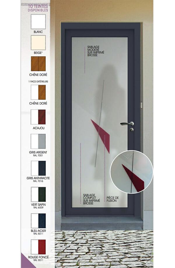 porte pvc gamme lumi re portes et fen tres pvc bois et. Black Bedroom Furniture Sets. Home Design Ideas