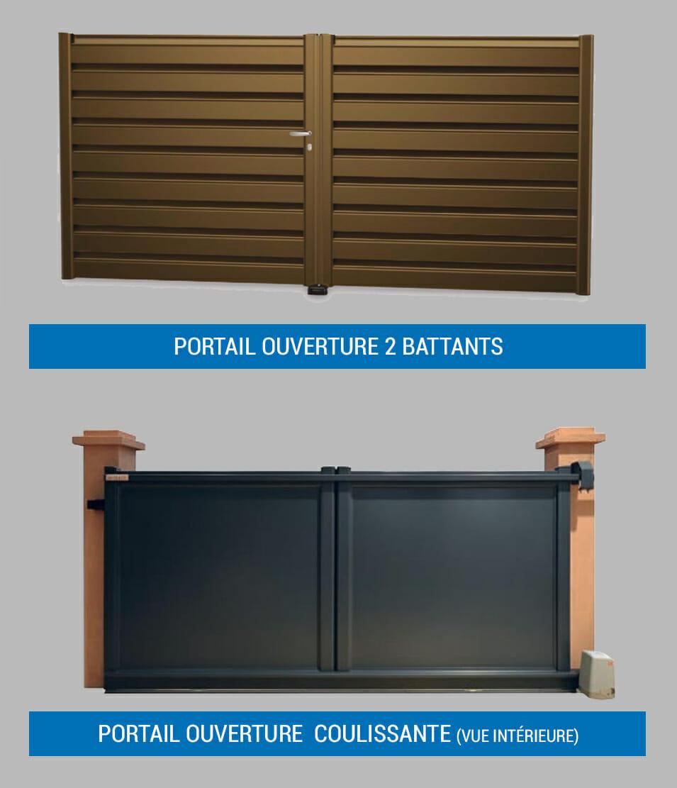 bien choisir son portail portes et fen tres pvc bois et alu en essonne 91. Black Bedroom Furniture Sets. Home Design Ideas