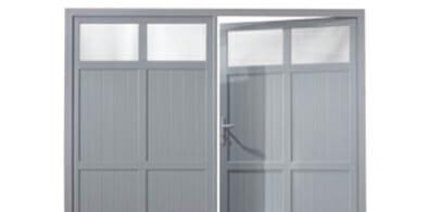 Porte de garage en essonne 91 pvc bois ou aluminium for Porte de garage fabrication francaise