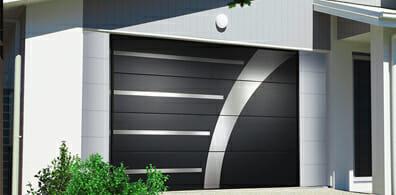 Porte de garage aluminium en essonne 91 pos e par un for Porte de garage 60 mm