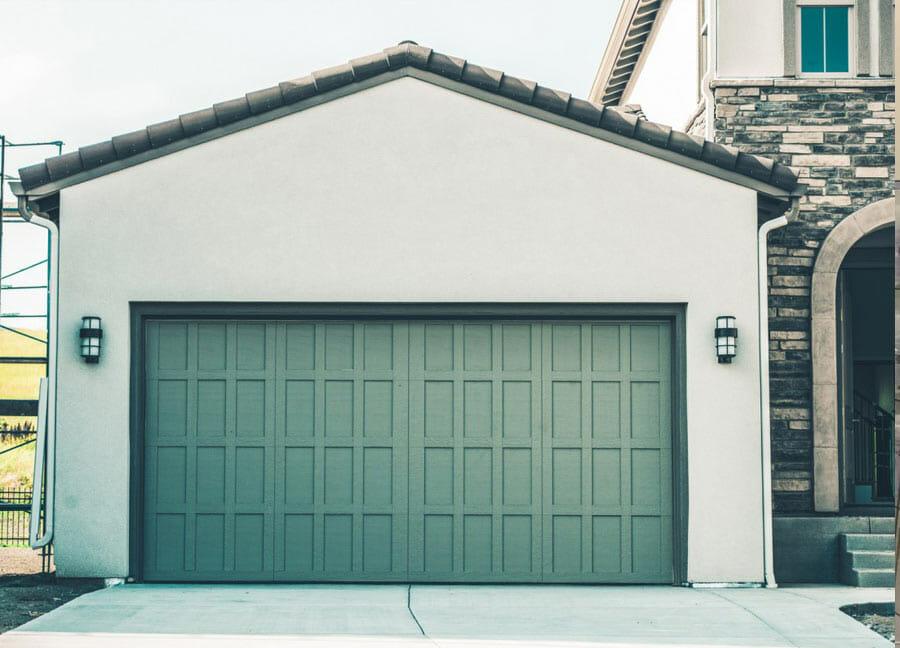 Porte de garage en essonne 91 pvc bois ou aluminium - Porte de garage double ...