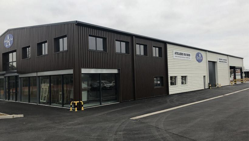 Nouveau bâtiment des Ateliers du Bois à la Ferté Alais