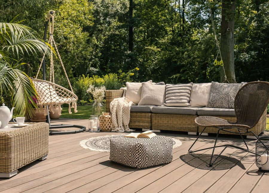Terrasse en bois sur-mesure