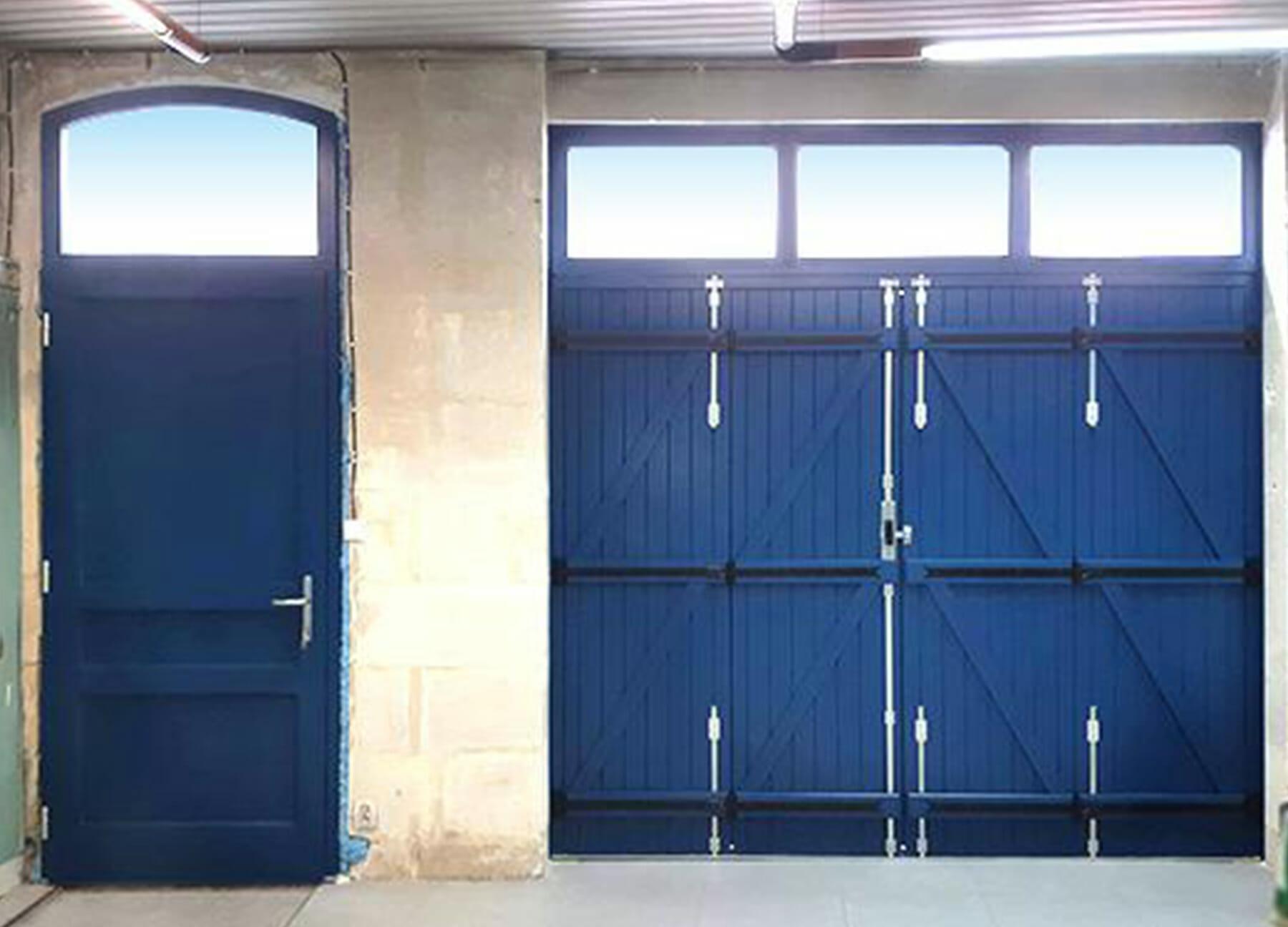 Porte de garage Thiebaut sécurité