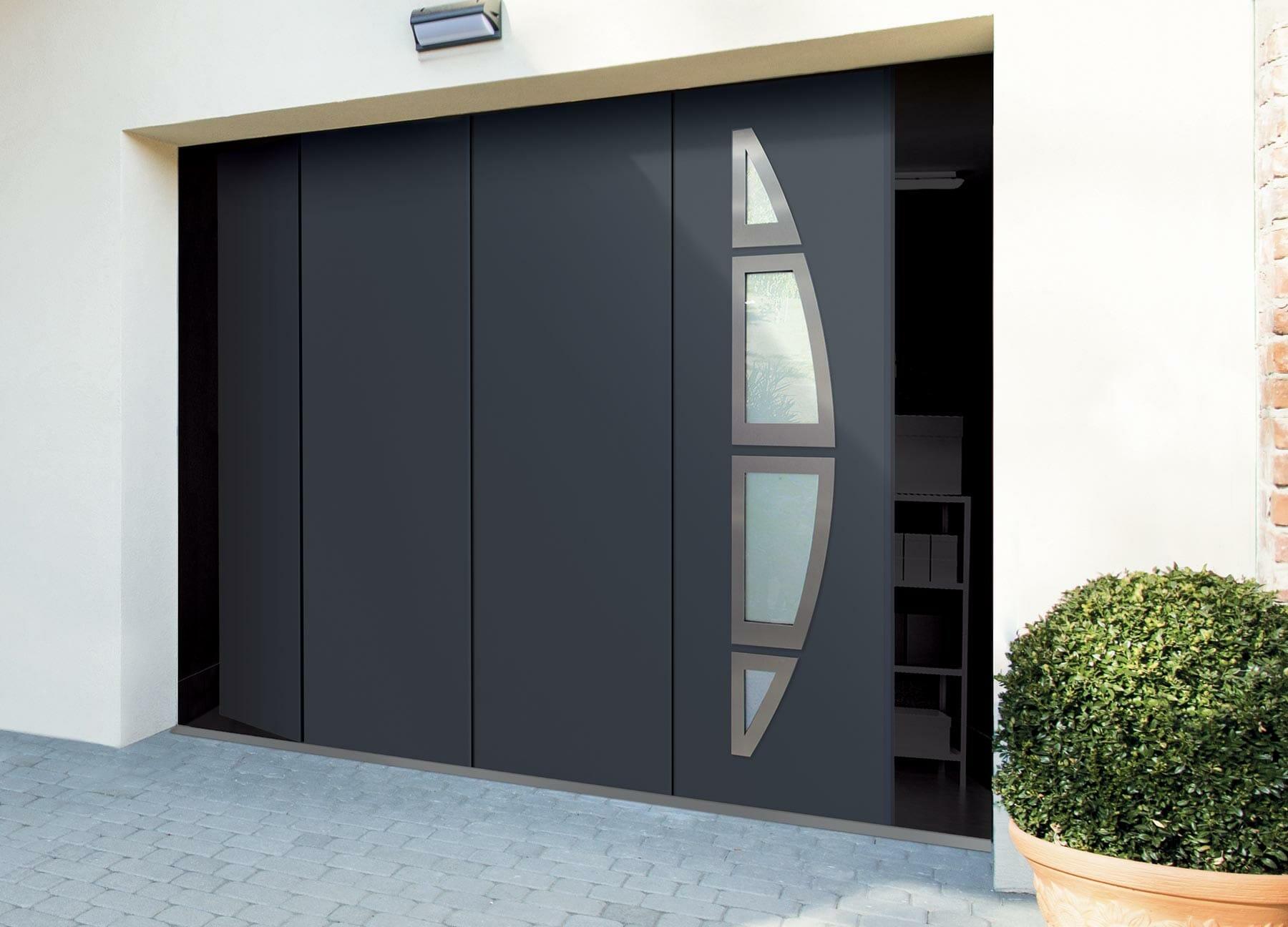 Porte de garage Fame à ouverture latérale