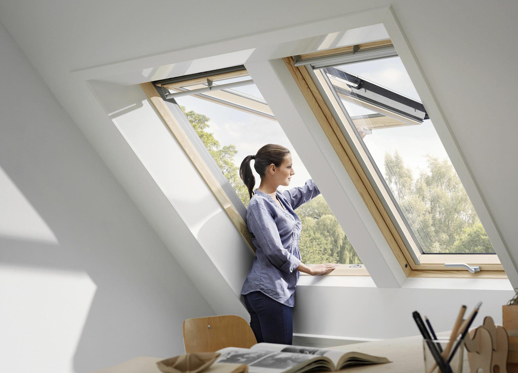 Fenêtre de toit à projection : une ouverture facilité